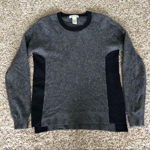 Orvis 100% cashmere crewneck pullover sweater, S